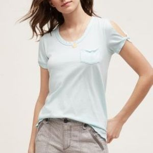 Keyhole Open-Shoulder Tee by T.La